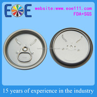 Zambia 202RPT aluminium can lid 52mm energy drinks can easy open lid