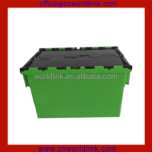 High Quality 50kgs Loading Plastic Shipping Tote Box