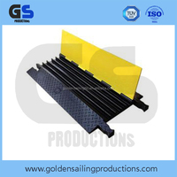 rubber cable protector / rubber cable ramp for outdoor event