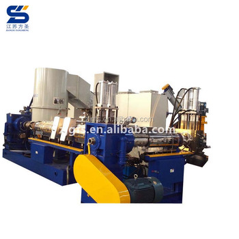 Plastic extruder machine used for garbage recycling