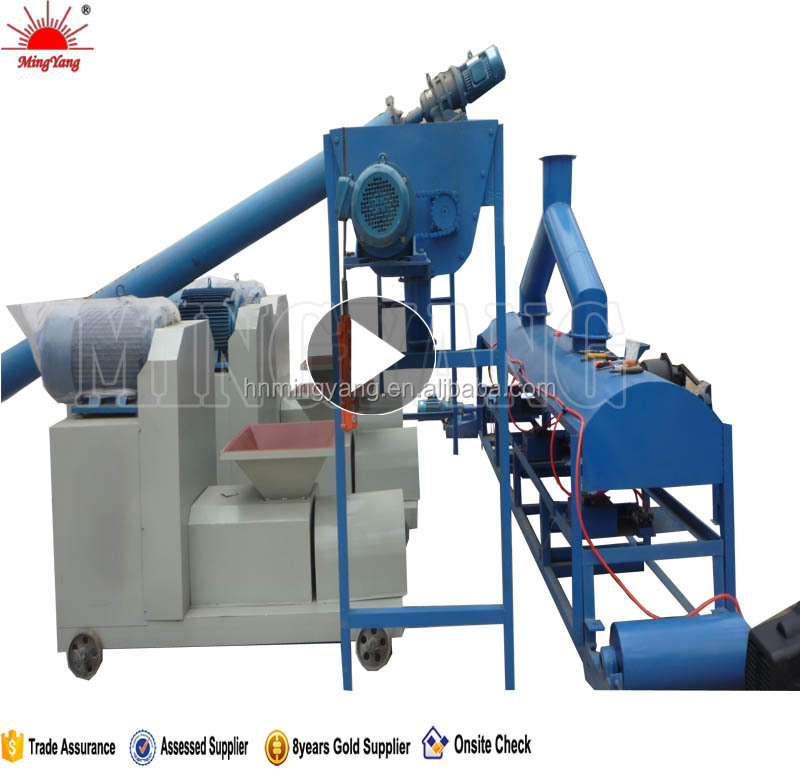 18.5kw No chemical binder CE approved round wood rod making machine 008615039052281