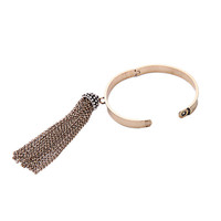 Wholesale 2016 Vintage Trends Bracelets Jewelry Indian Style Metal Tassel Bangles Antique Gold Copper Bangle For Women