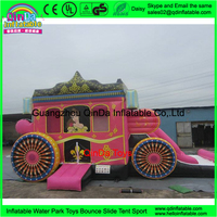 Birhday Parties Princess Bouncy Castle Inflatable Jumping Bouncer for Girls