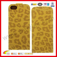 Customized Stylish Leopard Print Cover for iPhone 5