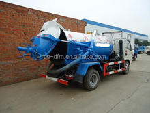 High Quality With Italy Vacuum Pump Sewage Suction Truck