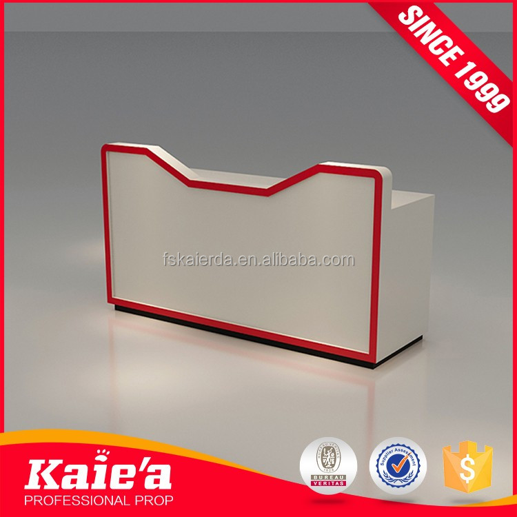 wholesale custom wood cashier counter for shop,checkout counter for retail store,
