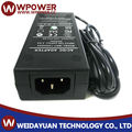 120v dc power supply 12V 4A with CE FCC SAA C-Tick RoHS UL certificates