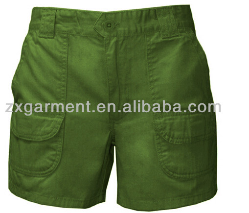 industry factory cargo work shorts Summer mens cargo casual wholesale 6 pocket shorts