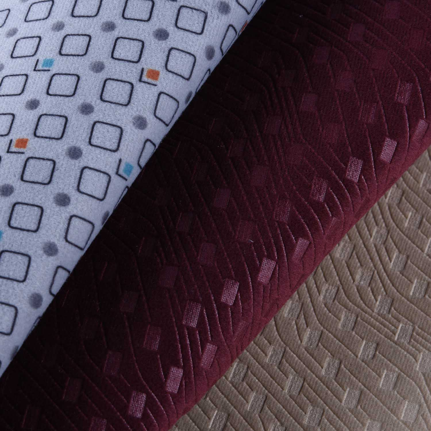 360 Gsm Dty Quality Jacquard Car Upholstery Fabric , Vehicle Upholstery Fabric