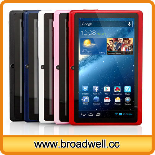 2014 Cheapest Best Selling Different Color Allwinner A23 Dual Core 7 inch PC Tablet Distributors