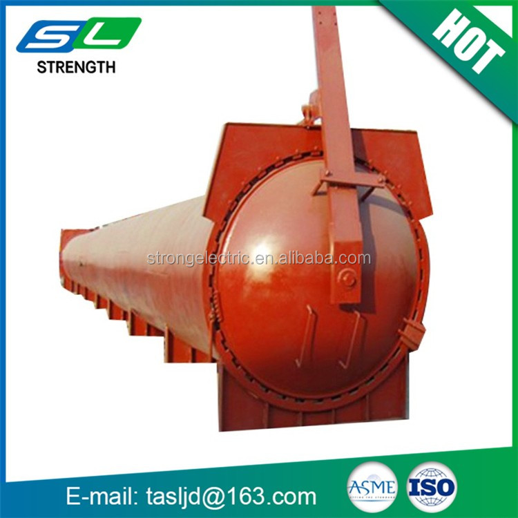 High quality pressure steam autoclave machine anticorrosive timber processing tanks for sale