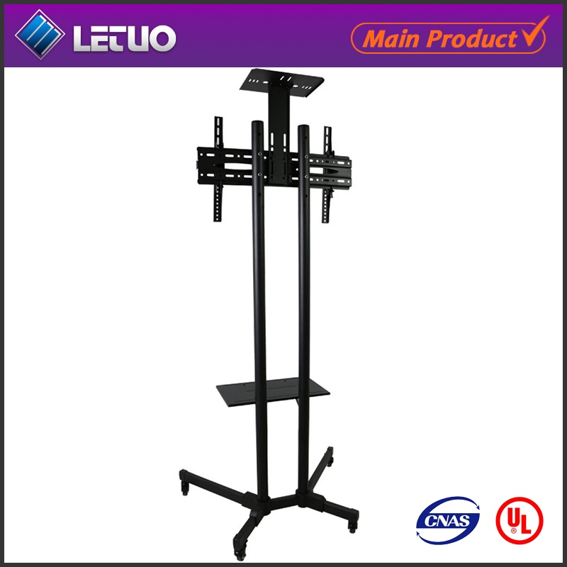 70 inch TV Trolley Stand with Mount TV trolley on Wheels TV Rack