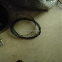 factory sale low price double black annealed twisted wire / black annealed wire