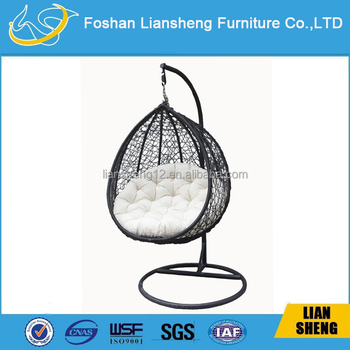 Hot Sale Rattan High Weight Bearing Outdoor Swing Chair