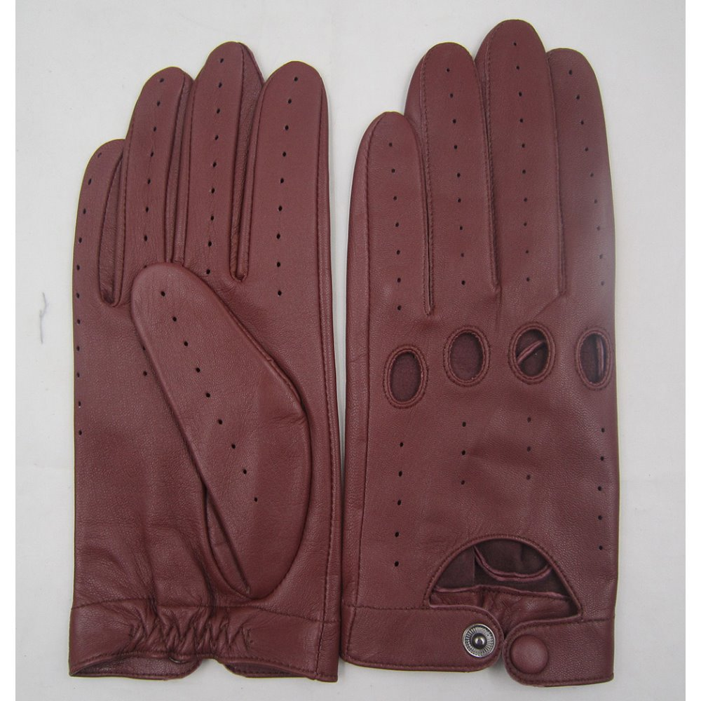 Men's comfortable outdoor driving gloves real leather gloves