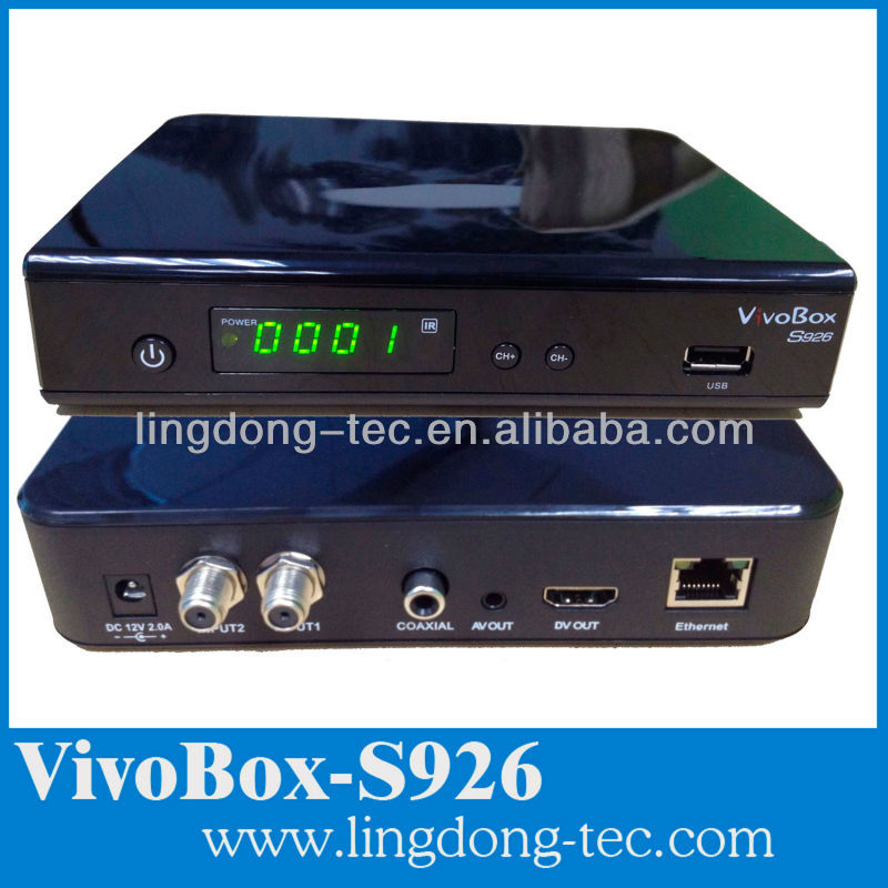 vivobox s926 is the same funciton as vivobox nuco with good server iks sks digital satellite receiver no dish