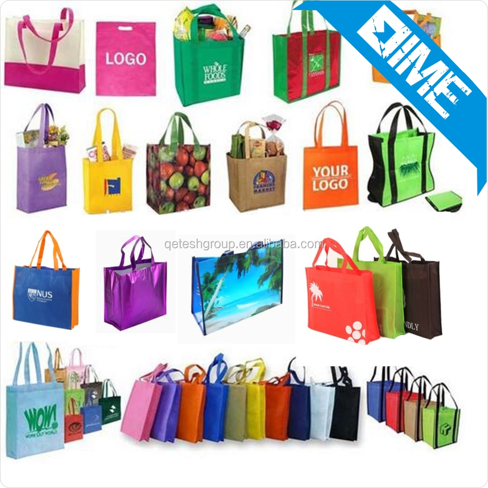 New Products 2016 Foldable Promotional Non-woven Shopping Bag