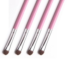 Pony Hair Eyeshadow Makeup Brush Pink Colour