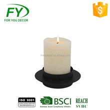 CH-31871 2017 The Newest Simple White Candle Holder For Decoration And Weddings