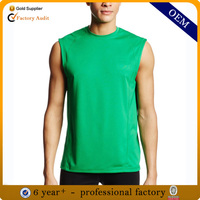 New blank dri fit sleeveless t shirts wholesale