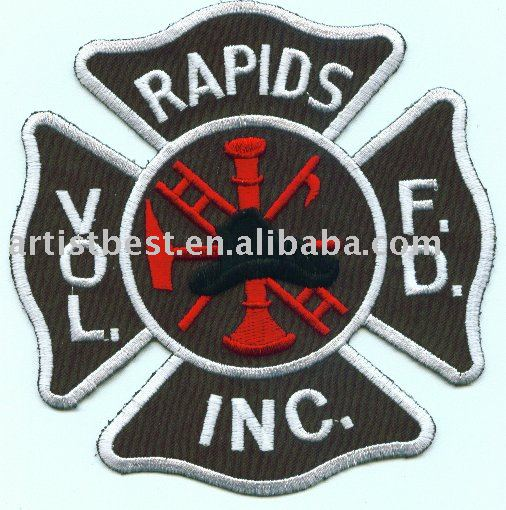 Fire & Rescue patch racing patches fashion accessory