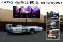 Yeeso mobile trailer led sign/road sign trailers/advertising bike trailer