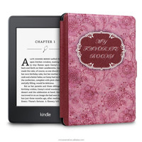 For All Amazon Kindle Paperwhite smart cover case mix colors My Favourite Book