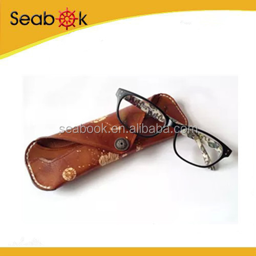 2015Newest Cool Glasses Case Soft Pouch Sunglasses Box Leather Box