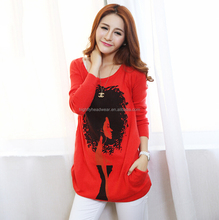 custom quality sweater women 2016 new woolen sweater designs for ladies