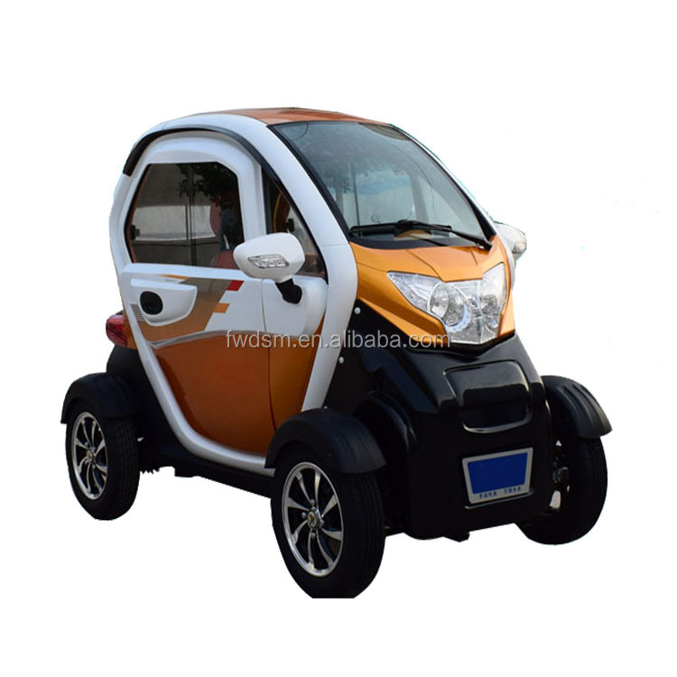 1200W dc motor 4 wheel electric passenger car