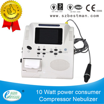Vascular doppler blood flow detector built-in battery and thermal printer with good price