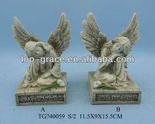 Resin garden cupid angel statue