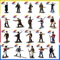 Custom 54 mm metal toy soldiers Collect pewter soldier toys soldiers figures