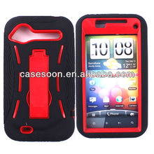 Mobile Phone Hybird Case with kickStand For HTC Droid Incredible 2 6350(G11)