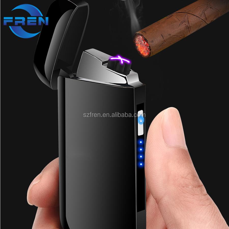 Hot Selling Outdoor USB Lighter Flashlight Cigarette Lighter