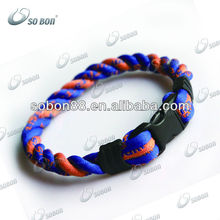GT-099 rope bracelet twisted energy cord bracelet
