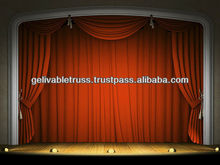 theater backdrop and stage curtain