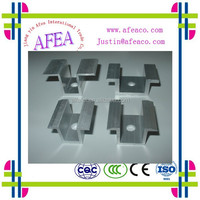 2015 Solar thin film panel clamp/mid/ end clamp BIPV made in china