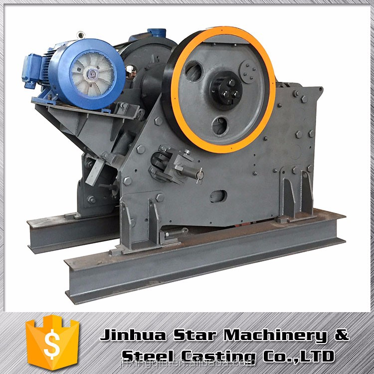 Smelting Low noise rock crusher