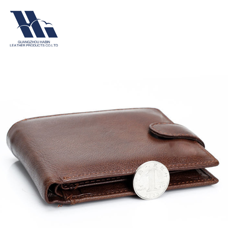 Top Layer Genuine Leather Men travel Wallet
