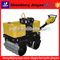 world reputation double drums road roller, road roller use EATON travel motor, road roller use WHITE main pump