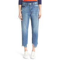 Dongguan Wholesale FIve Pocket Style Regular Fit Vintage Fit High Waist Crop Jeans