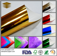 glossy Coloured Metallised Paper
