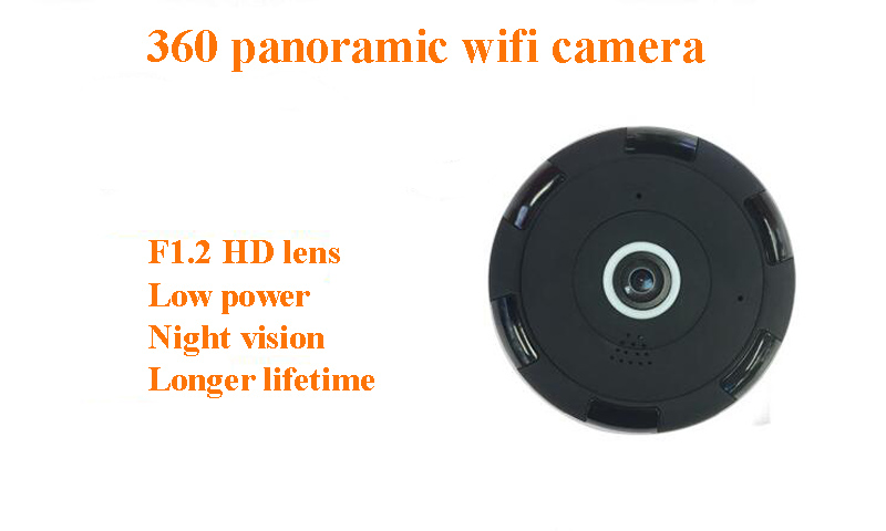 Two Way Audio 360 Degree Surveillance Camera Spy-camera For Indoor Security Camera System