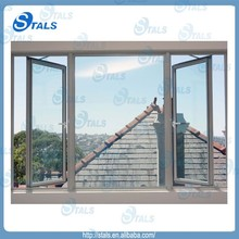 Cheap Price Casement Awning Sliding Aluminum Window Design, Window Shutters with Screen