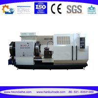 QK1343 Floor Type Heavy Duty CNC Pipe Threading Machine/ Thread Repairing Lathe