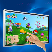 Wall mounted Education equipment class use 42 inch LED Touch Screen Windowss Monitor