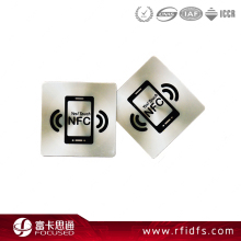 Type2 13.56Mhz Passive Nfc rfid Tag For Mobile Phone