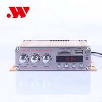 YW-202 12V 2 channel car audio amplifier with usb mini mp3 player cheap clip mp3