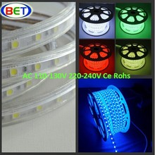 New 2016 waterproof 127v high voltage flex rgb led night light